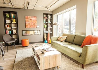 Shared office space lounge ACE coworking