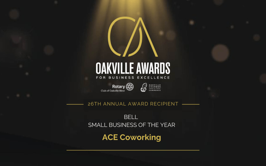 ACE Coworking Awarded Small Business of The Year 2021